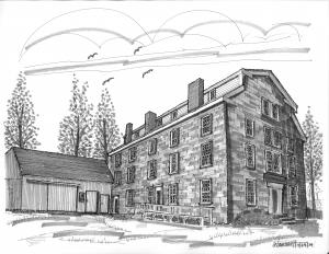 Summer 2014 project The Brownington Stone House Museum Series